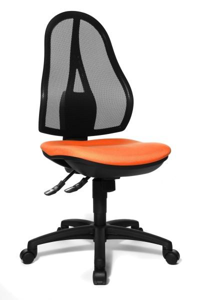 Bürostuhl Open Point SY - orange - Topstar