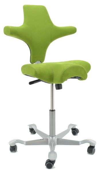 Drehstuhl Capisco 8106 - Comfort grün - HAG