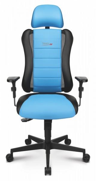 Drehstuhl Sitness RS - schwarz/blau - Topstar