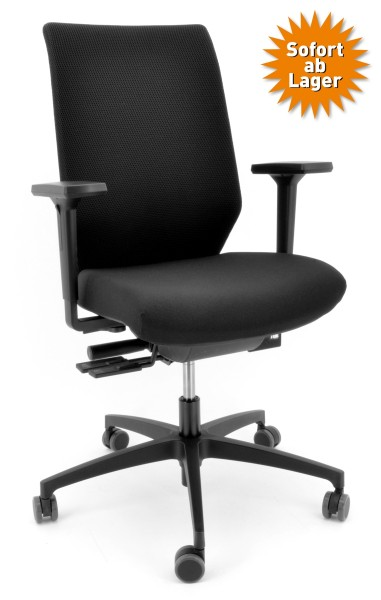 Drehstuhl Shape SH 37575 - Dauphin, schwarz