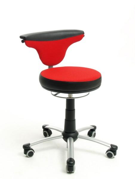 Jugenddrehstuhl TORRO-SIT von Mayer in rot/schwarz