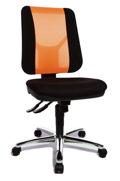 Drehstuhl Artwork 20 SY - schwarz / orange - Topstar