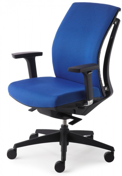 Drehsessel Arti Chair 2453 - blau - Mayer