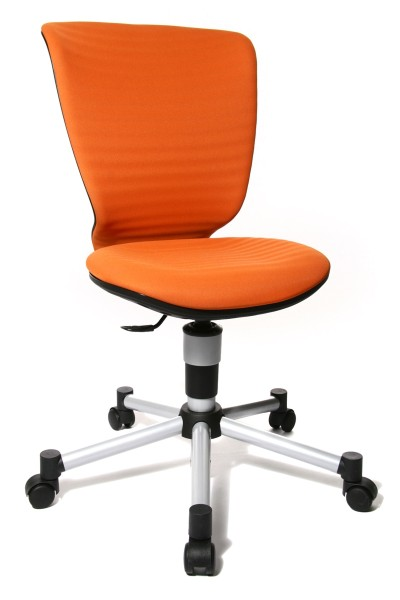 Kinderdrehstuhl - Titan Junior 3D - orange - Topstar