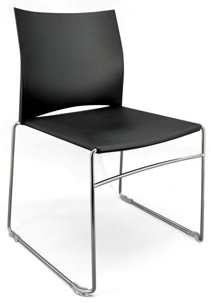 Konferenzstuhl Ariz 550V - schwarz - PROFIm
