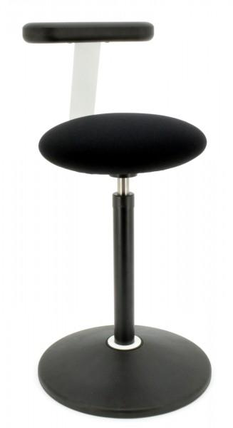 Hocker / Stehhilfe Rovo Solo 3810 EB S2 - schwarz - Rovo Chair