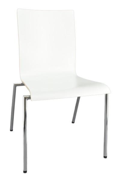 Besucherstuhl Cadeira - weiß - Nowy Styl
