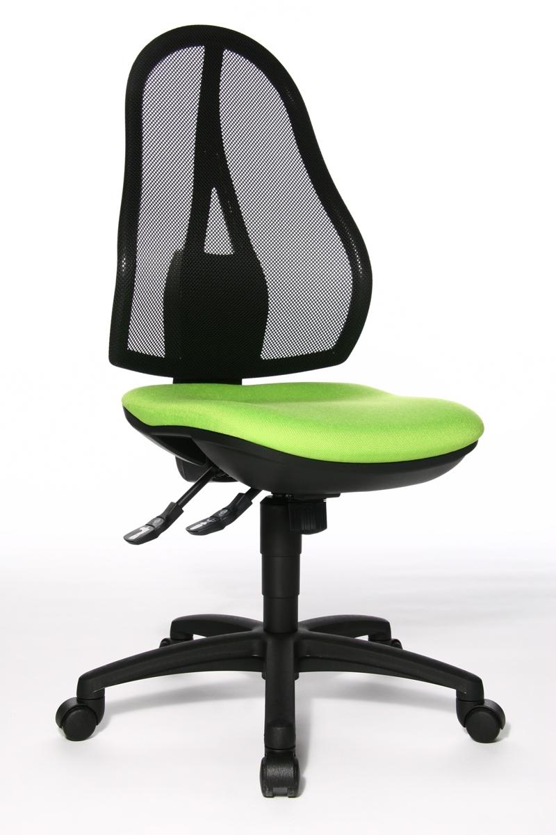 Drehstuhl Bürostuhl Arbeitsstuhl Büro-Hocker Topstar Sitness 40 sand B-Ware