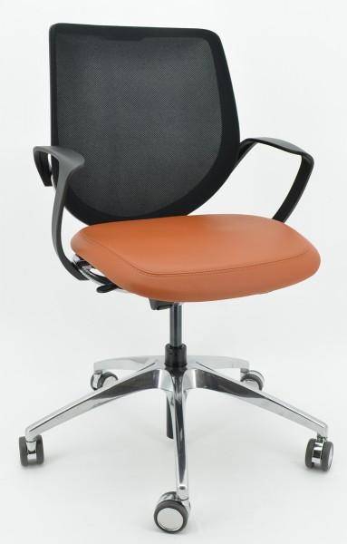 Drehstuhl Giroflex 313-8039 - hellbraun/schwarz