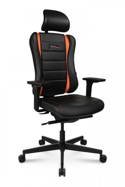 Drehstuhl Sitness RS PRO - schwarz/orange - Topstar