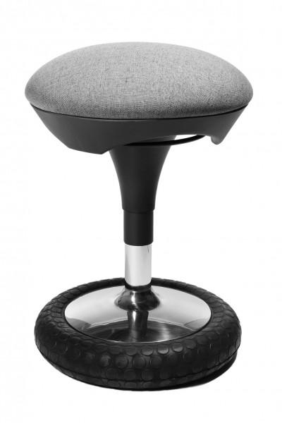 Hocker Sitness 20 - hellgrau - Topstar, lieferbar ab KW 17