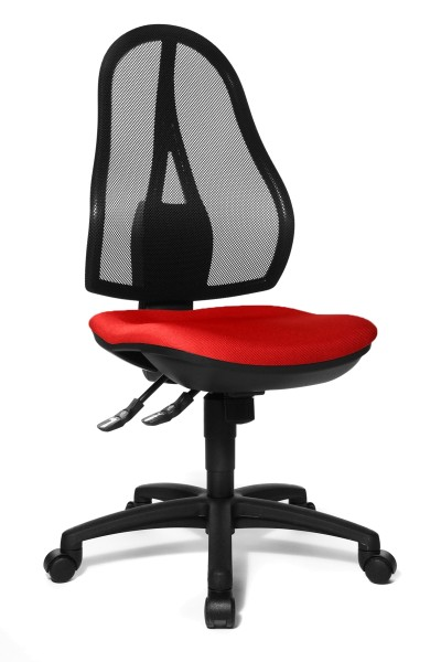 Bürostuhl Open Point SY - rot - Topstar