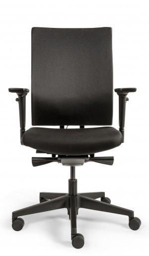 Drehstuhl 787 Edition EX Comfort - tiefenverstellbare Lordosenstütze - schwarz