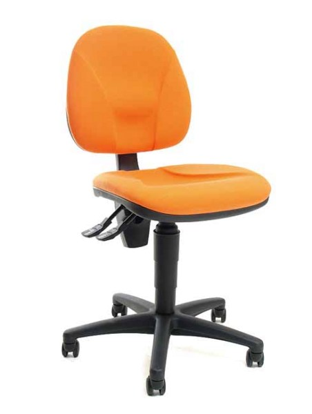 Bürostuhl Point 10 - orange - Topstar
