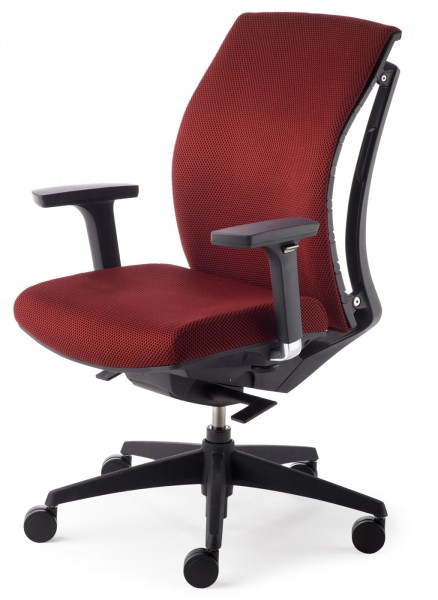 Drehsessel Arti Chair 2453 - burgundrot - Mayer