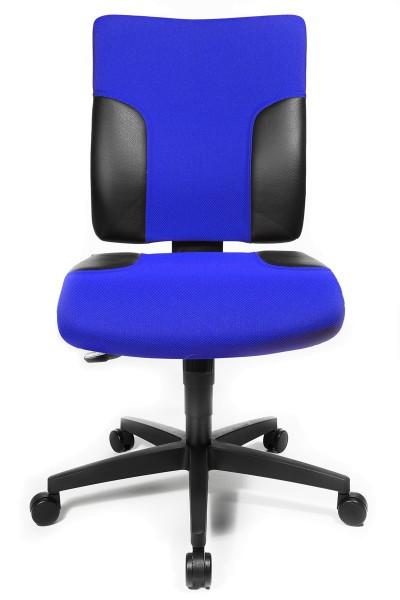 Drehstuhl Two 10 - blau/schwarz - Topstar