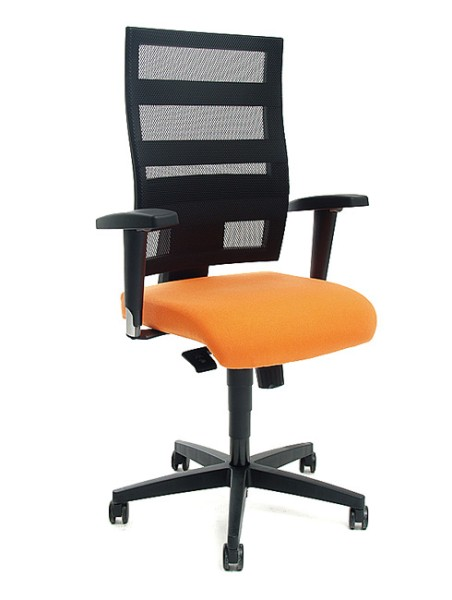 Drehstuhl Topstar X-Pander Orange mit Armlehnen