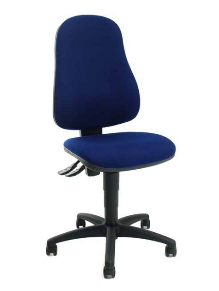 Bürostuhl Point 60 - blau - Topstar
