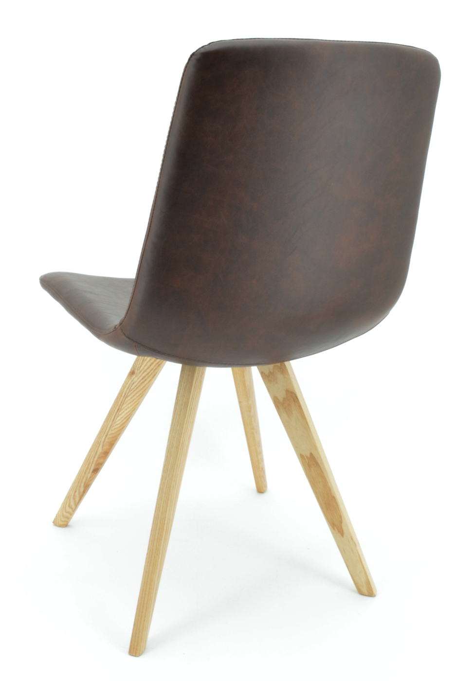 Kunstleder BraunFüße Stuhl Cassy Holz c3j45RALq