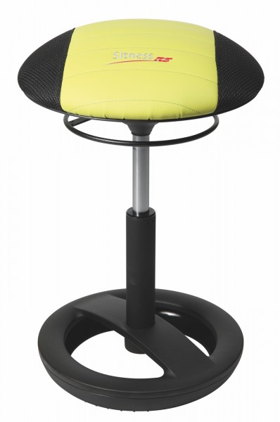 Fitness-Hocker Sitness RS Bob - schwarz/grün - Topstar