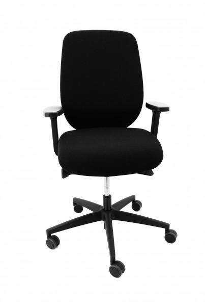 Drehstuhl Giroflex 353 - Gepolsterter Rücken und 3D Move-Sitz