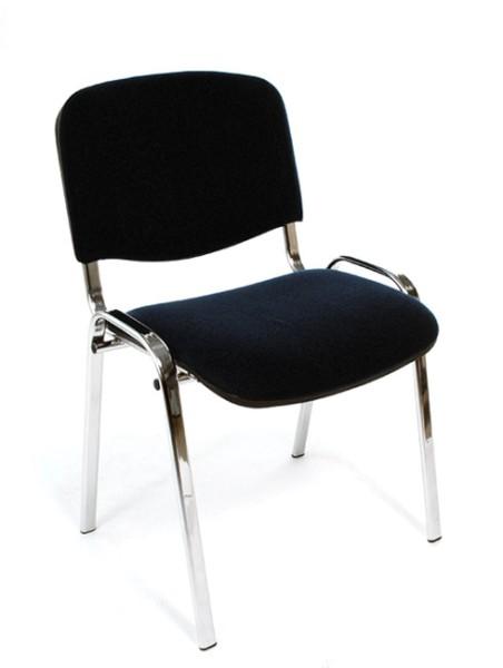 Konferenzstuhl Iso - schwarz, Chrom - Nowy Styl