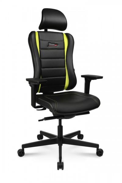Drehstuhl Sitness RS PRO - schwarz/grün - Topstar