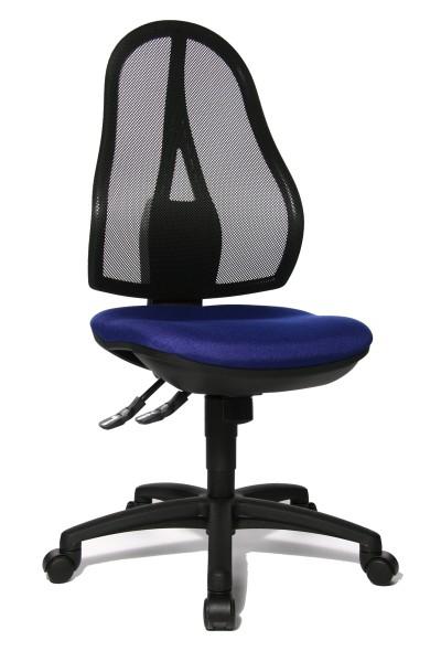 Bürostuhl Open Point SY - blau - Topstar