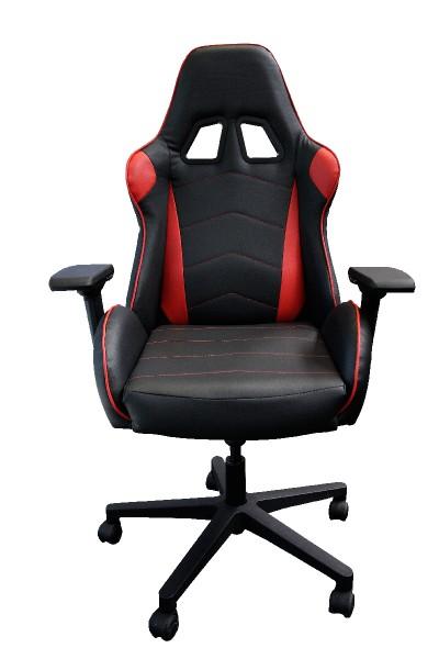 """Chefsessel Topstar Speed Chair 2 """"Gaming-Chair"""" - schwarz / rot mit """"Sportsitzcharakter"""""""