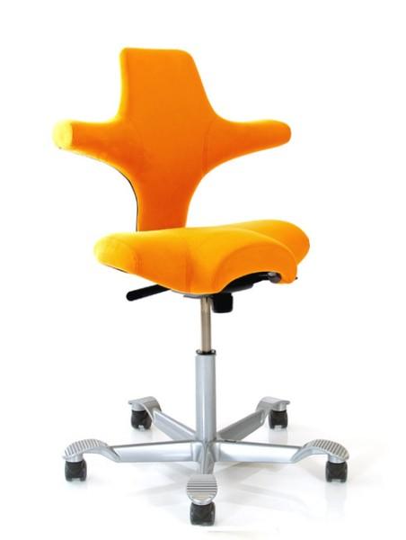 Drehstuhl Capisco 8106 - orange - HAG