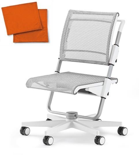 Kinderdrehstuhl - Scooter - orange Uni - Moll