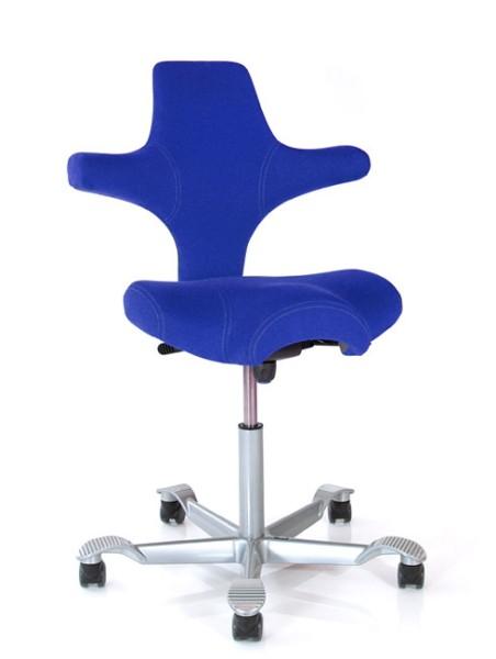 Drehstuhl Capisco 8106 - blau - HAG