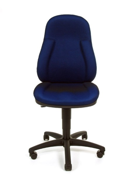 Bürostuhl Wellpoint 10 P - blau - Topstar