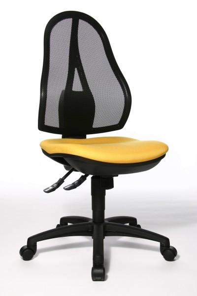 Bürostuhl Open Point SY - gelb - Topstar