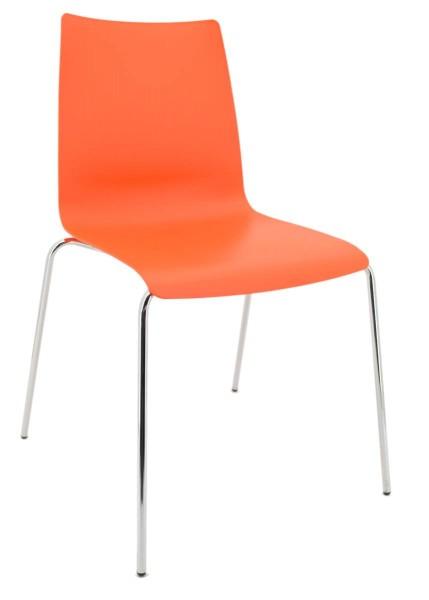 Besucherstuhl Unicus - orange - Brune