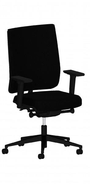 Bürodrehstuhl mit Armlehnen - F1