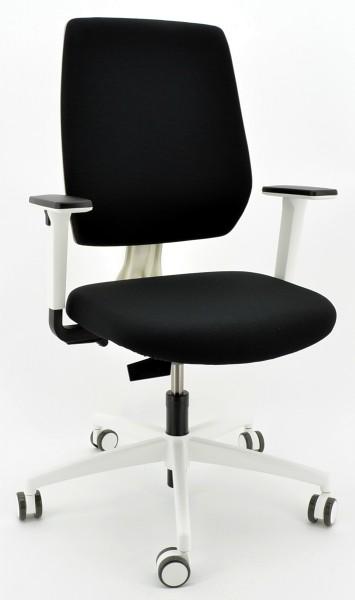 Drehstuhl Trend!Office speed-o - weiß/schwarz- Dauphin